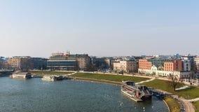 Krakow pejzaż miejski Obraz Stock