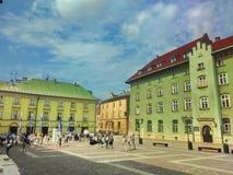krakow Poland fotografia stock