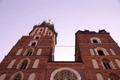 Krakow in Poland Royalty Free Stock Photo