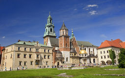 KRAKOW, POLAND - AUGUST 1, 2015: Wawel Cathedral on 1 August 201 Stock Photo