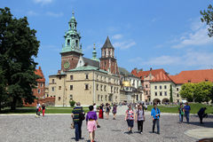Krakow, Poland. Catholical church in the old city Stock Image