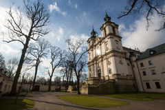 KRAKOW, POLAND -  Church of St.Stanislaus Bishop. Stock Images