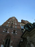 Krakow. Poland. The The city`s Cathedral, St. Mary`s Castel Royalty Free Stock Images