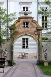Krakow, Poland. Entrance to the faculty of Krakow University Royalty Free Stock Photography