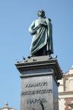 KRAKOW, POLAND/EUROPE - SEPTEMBER 19 : Adam Mickiewicz Monument Stock Photo