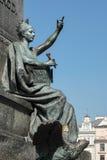 KRAKOW, POLAND/EUROPE - SEPTEMBER 19 : Adam Mickiewicz Monument Stock Image
