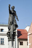 KRAKOW, POLAND/EUROPE - SEPTEMBER 19 : Piotr Skarga statue in Kr Stock Image