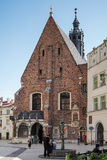 KRAKOW, POLAND/EUROPE - SEPTEMBER 19 : St Barbaras Church in Kra Royalty Free Stock Photo