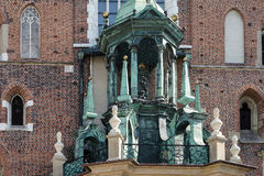 KRAKOW, POLAND/EUROPE - SEPTEMBER 19 : St Marys Basilica in Krak Stock Image