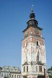 KRAKOW, POLAND/EUROPE - SEPTEMBER 19 : Town Hall Tower Market Sq Royalty Free Stock Image
