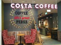 Costa Coffee coffeehouse stock photo