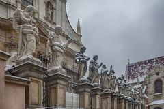 Picture of Apostles at Church of St. Peter and Paul in Krakow Royalty Free Stock Images