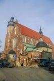 Krakow,Poland -January 5, 2011: Corpus Christi Church (Kosciol B Royalty Free Stock Photo