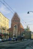 Krakow,Poland -January 5, 2011: Corpus Christi Church (Kosciol B Royalty Free Stock Photography