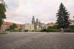 Wawel Royal Castle, Krakow, Poland, Europe Stock Image
