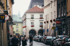 KRAKOW, POLAND - JUNE 27, 2015: Curate of St. Mary's Church Stock Images