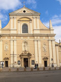 KRAKOW, POLAND - March 29, 2015: The Carmelite Church in Krakow, Royalty Free Stock Photo