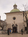 KRAKOW, POLAND - March 29, 2015: The Church of St. Adalbert, Kro Royalty Free Stock Photography