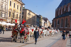 KRAKOW, POLAND - March 07 2015 Stock Photo