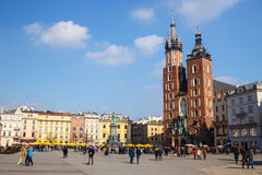 KRAKOW, POLAND - March 07 2015 Royalty Free Stock Image