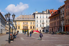 KRAKOW, POLAND - March 07 2015 Stock Photography