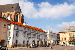 KRAKOW, POLAND - March 07 2015 Royalty Free Stock Photography
