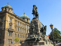 Krakow. Poland. Monuments of the Old town Royalty Free Stock Photography