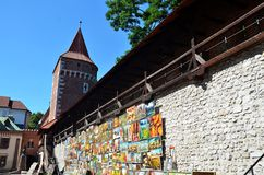 Krakow in Poland Royalty Free Stock Image
