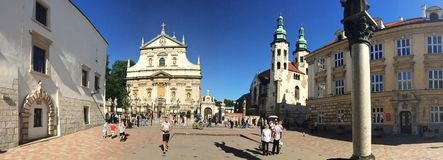 Krakow, Poland - old town Stock Images