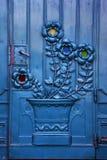Krakow - Poland - porta velha do teatro Imagem de Stock Royalty Free