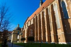 Krakow, Poland. Roman catholic church Corpus Christi Basilica Royalty Free Stock Photo