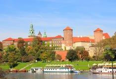Krakow Poland, Royal Castle Stock Photo
