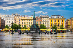 Krakow - Poland's historic center Royalty Free Stock Photo