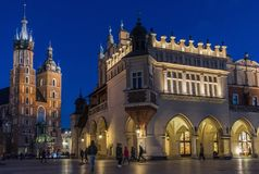 The Old Town of Krakow, Poland royalty free stock photography