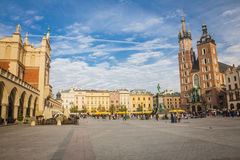 Krakow in Poland Stock Photo