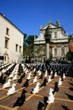 Krakow, Poland - St. Peters e quadrado de Paul fotos de stock royalty free