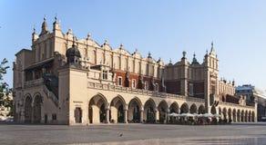 krakow poland sukiennice royaltyfria foton