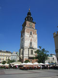 Krakow. Poland. The town`s main square Royalty Free Stock Images