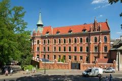 krakow poland Turnera av Krakow royaltyfri fotografi