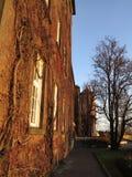 Krakow, Poland, Wavel castle, Brick wall Royalty Free Stock Images
