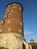 Krakow, Poland, Wavel castle Royalty Free Stock Photo