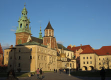 Krakow, Poland, Wavel castle Stock Photography