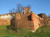Krakow, Poland, Wavel castle Stock Photos