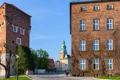 Krakow, Poland. Wawel. Royalty Free Stock Photo