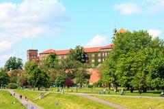 Krakow, Poland, Wawel Castle Royalty Free Stock Photos