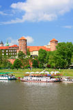 Krakow, Poland, Wawel Castle Stock Images