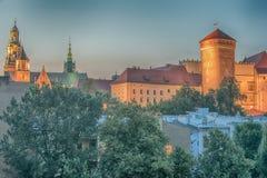 Krakow, Poland: Wawel Castle Royalty Free Stock Photography