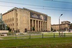Krakow Polska, Październik, - 2, 2016: Budujący muzeum narodowe ja Obrazy Royalty Free