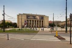 Krakow Polska, Październik, - 2, 2016: Budujący muzeum narodowe ja Obraz Royalty Free