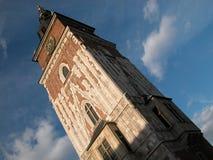 krakow ratusz Royaltyfri Foto